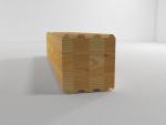 Клееный брус 190*200 (вертикальная склейка) с чашами